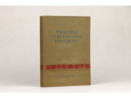 Pravidlá slovenského pravopisu (1953)