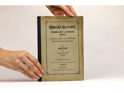 Julius Roth - Německá mluvnice pro střední školy a učitelské ústavy (1920)