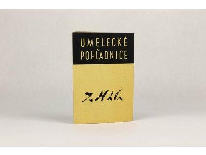 (pohľadnice) Ján Hála /umelecké pohľadnice (1966)