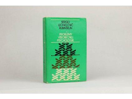 Sergej Leonidovič Rubinštejn - Problémy všeobecnej psychológie (1978)
