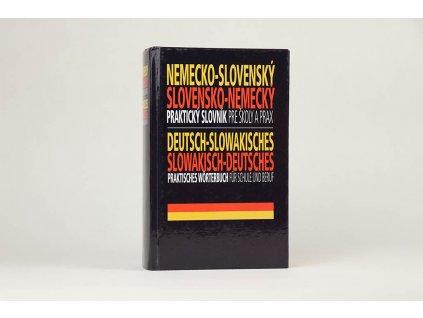 Nemecko-slovenský, slovensko-nemecký praktický slovník pre školy a prax (2007)
