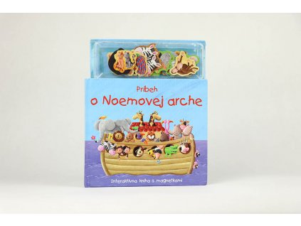 Príbeh o Noemovej arche, interaktívna kniha s magnetkami (2008)