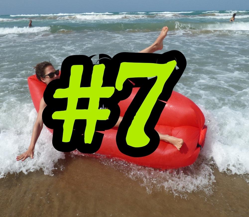 #6 Vejdu se kamkoliv a rychle se nafouknu! Lazy bag