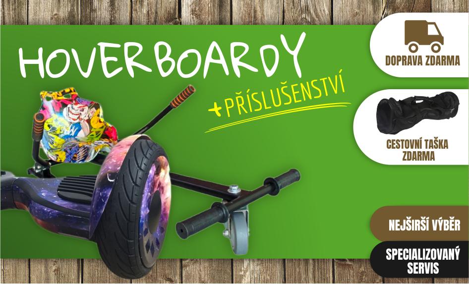 Hoverboardy Offroad a příslušenství