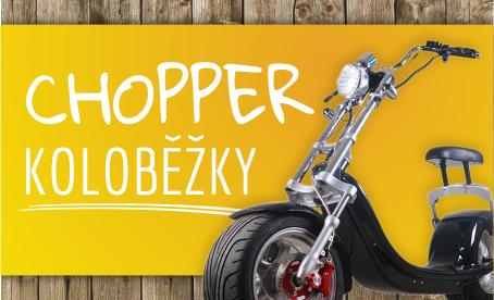 Chopper elektrické koloběžky - Hit roku 2018
