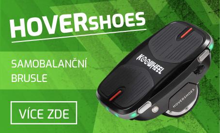 Elektrické brusle HoverShoes KooWheel - značkové samobalanční brusle s patentem
