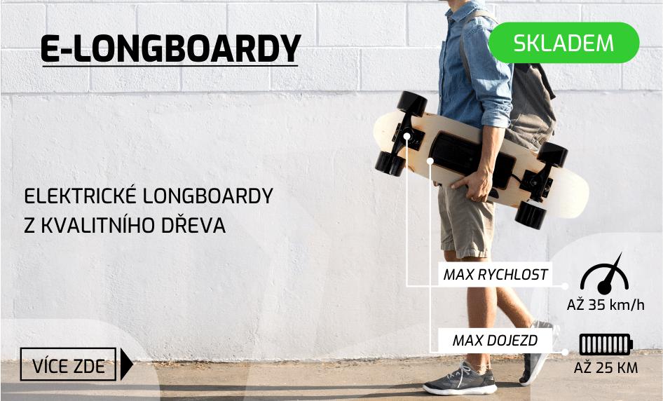 Elektrické longboardy s dálkovým ovladačem - StarWalker