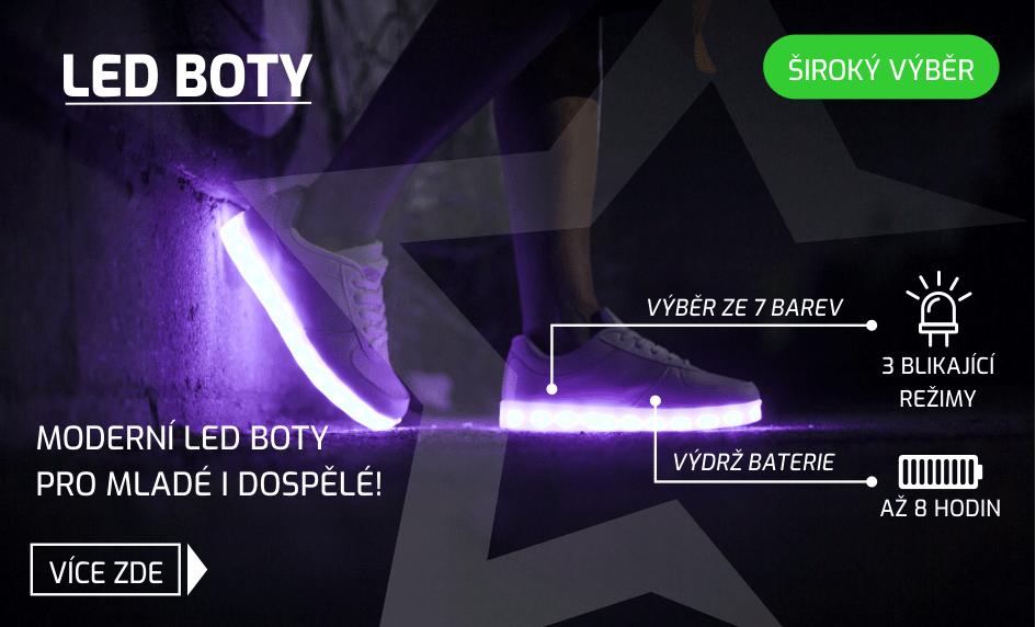 Svítící LED boty - taneční tenisky pro každého - StarWalker