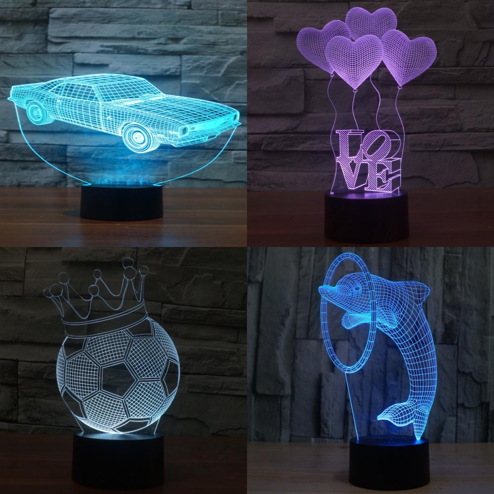 Náhradní skla - 3D lampičky