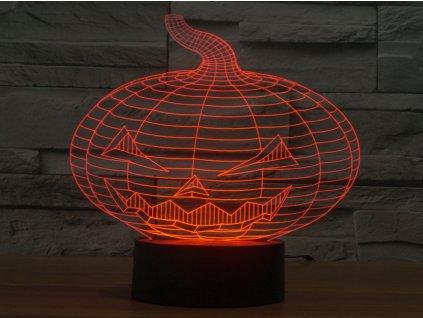 3D lampicka lampa halloween