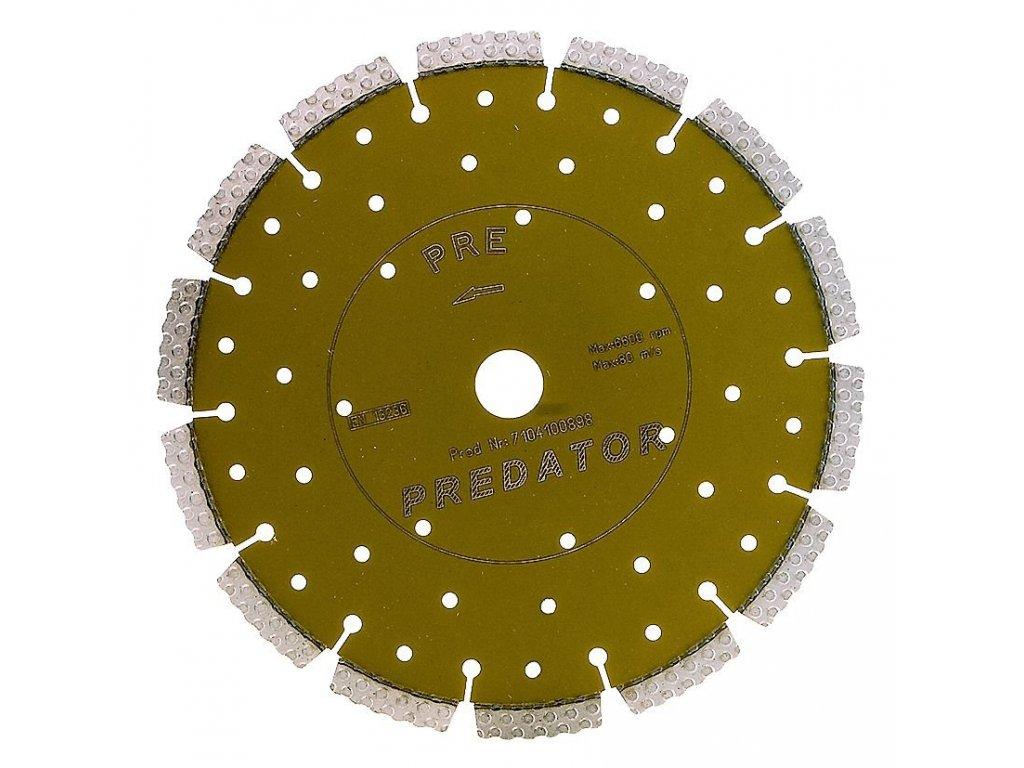 Diamantový kotouč D 125 PREDATOR řezný - Carbodiam