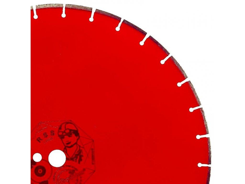 Diamantový kotouč D 500 RSS šamot řezný - Carbodiam