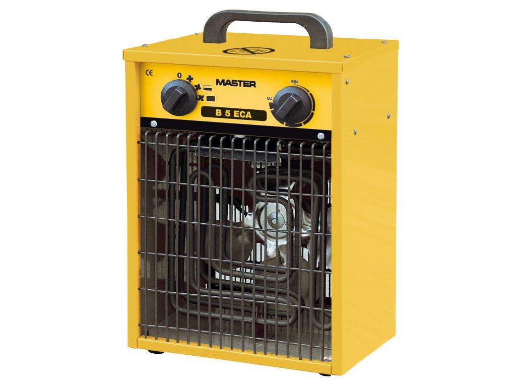 Elektrické topidlo B 5 ECA s ventilátorem