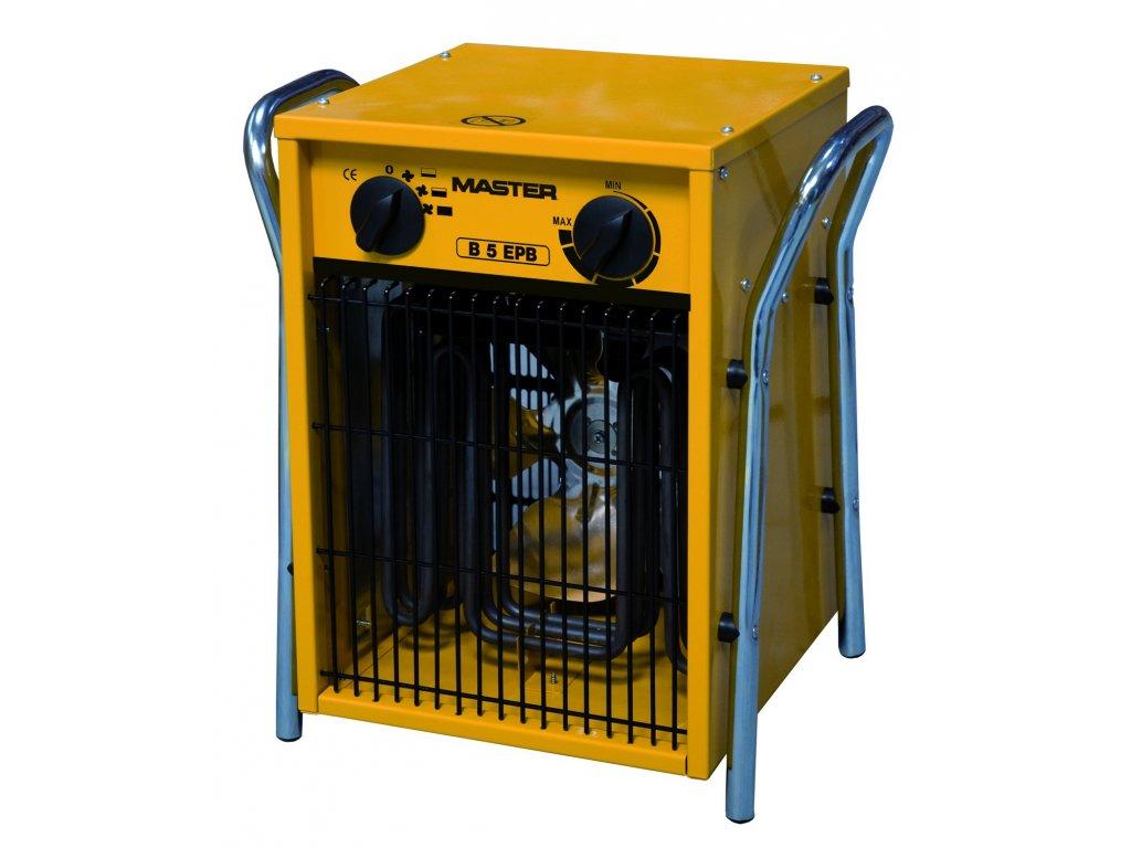Elektrické topidlo B 5 EPB s ventilátorem