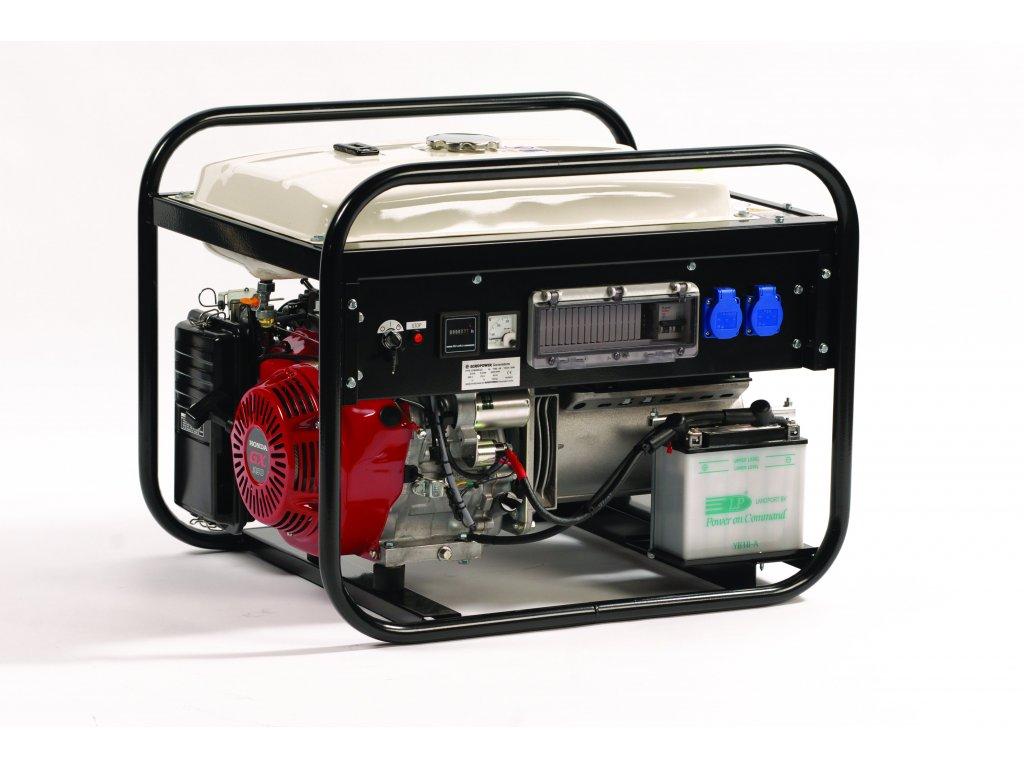 Elektrocentrála EP6000E/25 - Europower