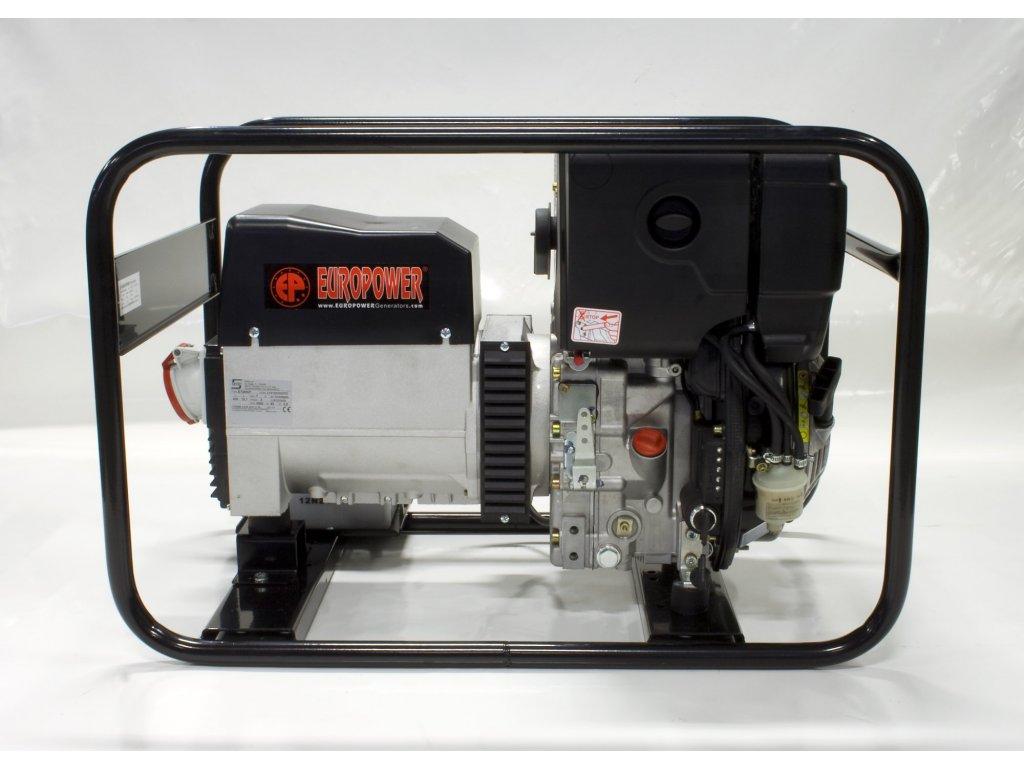 Elektrocentrála EP7000TDE - Europower