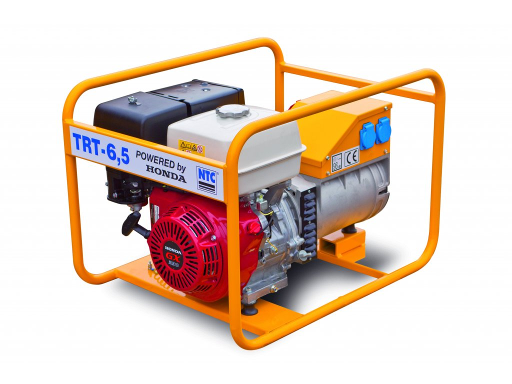 Elektrocentrála TRT-5,5 - NTC