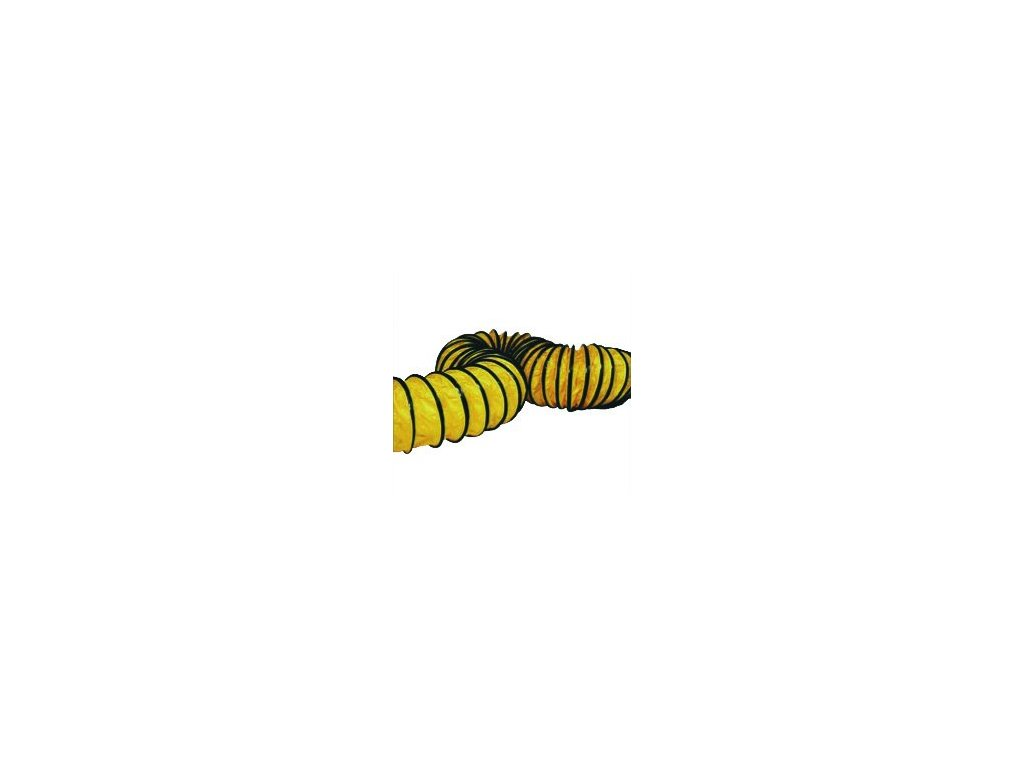 Hadice pružná PVC - B 18EPR 23cm/7,6m (2-vývody)