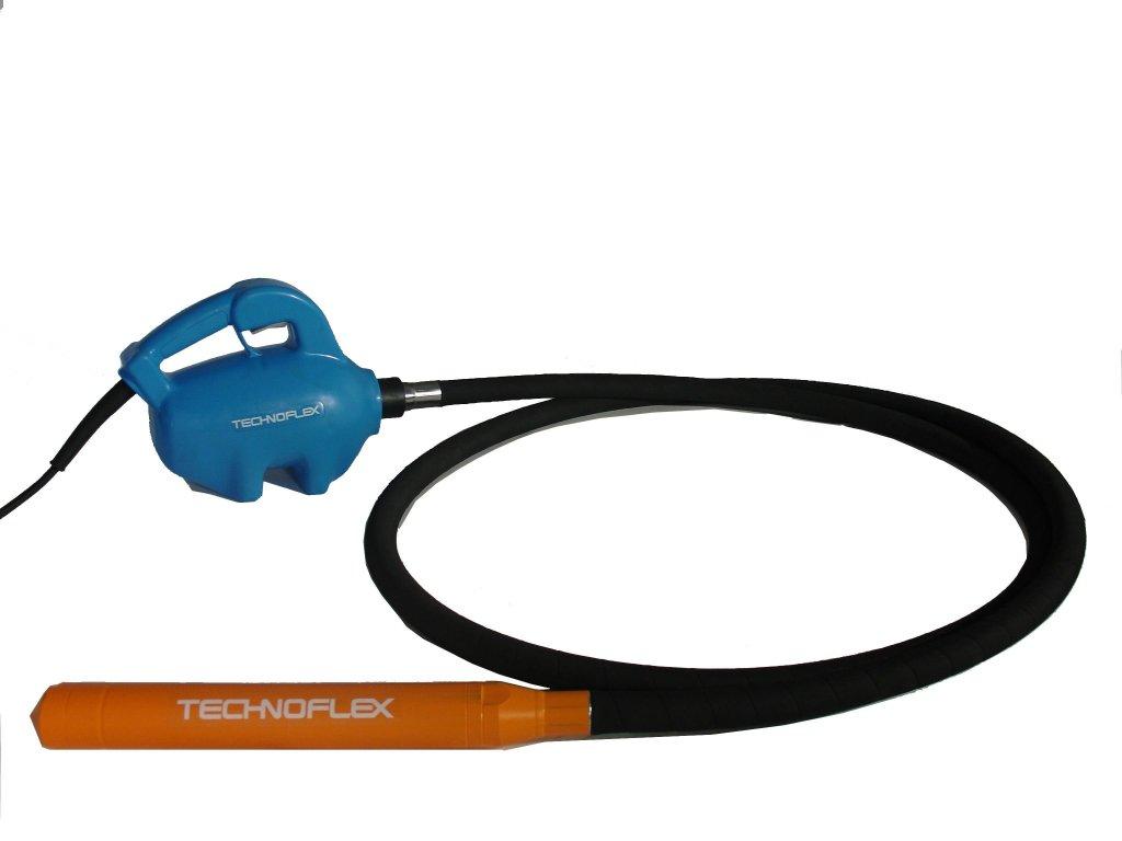 Ohebná hřídel s vibrační hlavice 60mm Sangla - Technoflex