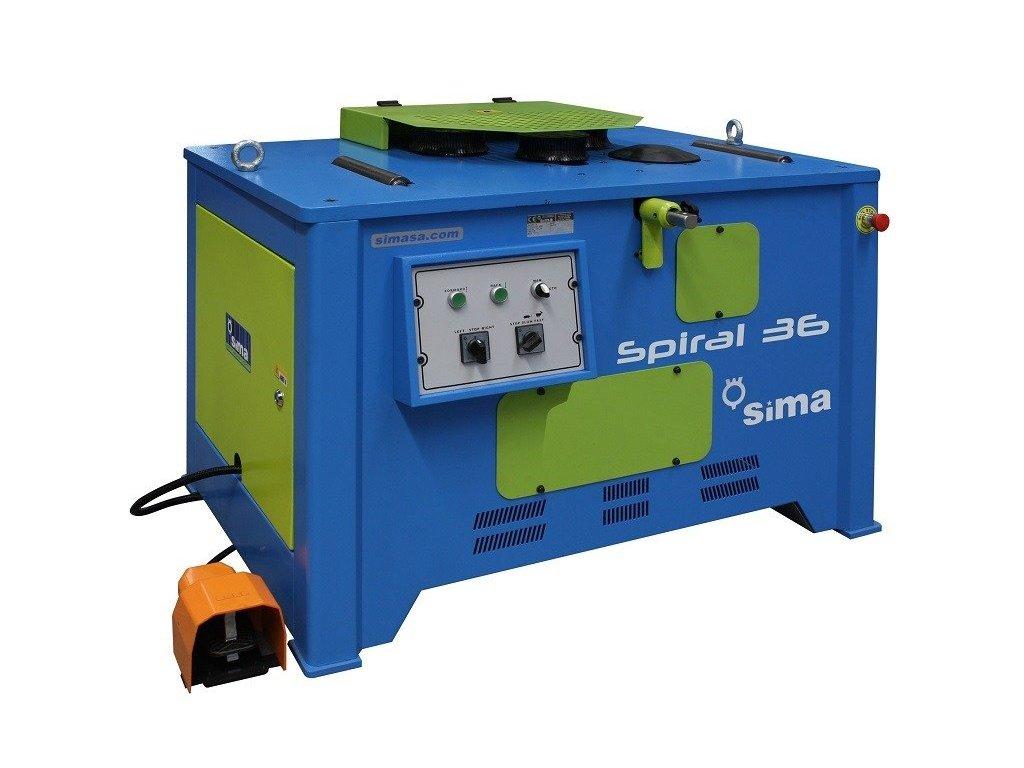 Stroj na výrobu spirál - Spiral 36 - Sima