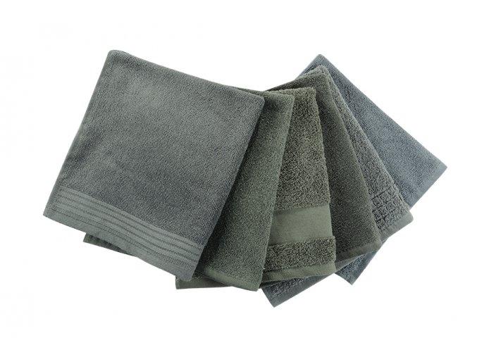 Ručník KELA tmavě šedý - 2. jakost