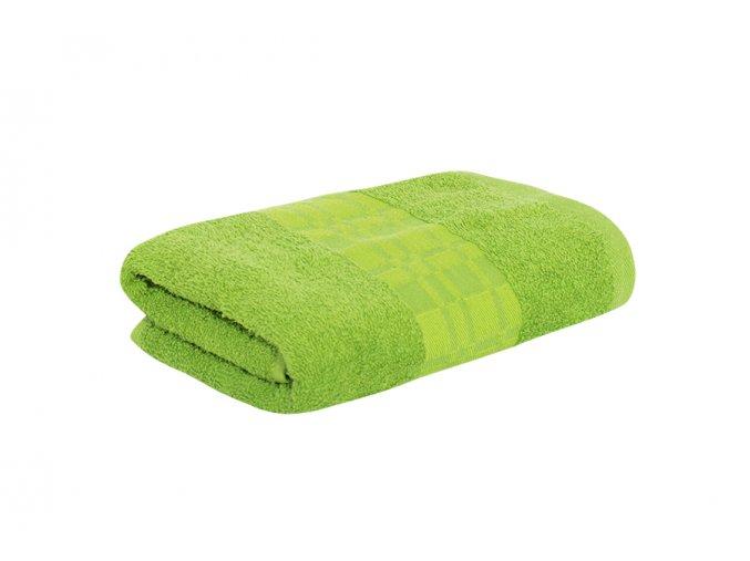 Ručník SAMOS tmavě zelený