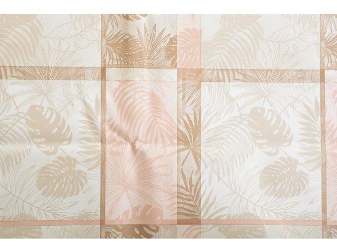 PVC ubrus PLANTEA smetanový 120x140 cm