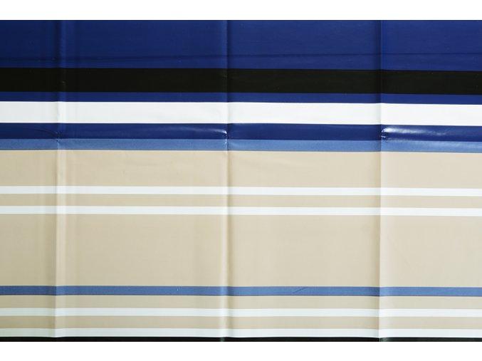 PVC ubrus STREPA béžový 140x200 cm