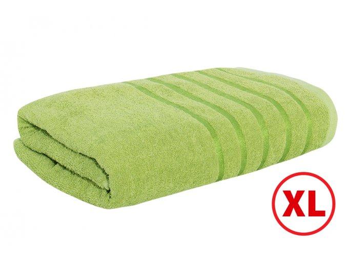 Maxi osuška STRIPA zelená