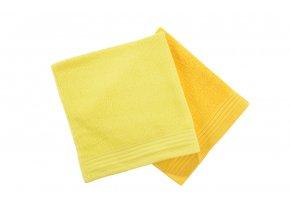 Ručník KELA žlutý - 2. jakost