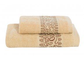 Set ručníku a osušky KEFALA béžový