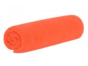 Rychleschnoucí osuška TOP oranžová