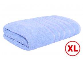 Maxi osuška STRIPA modrá