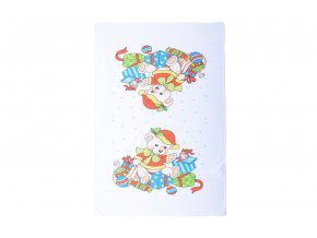 Vánoční ručník MÉĎA