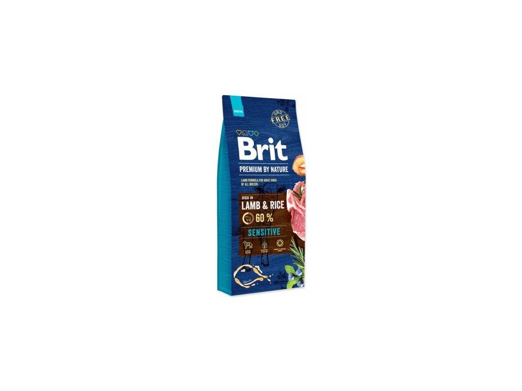 brit granule lamb rice