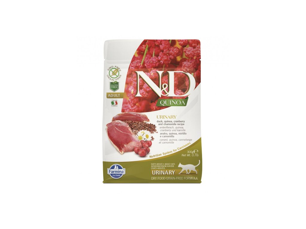 nd gf cat adult urinary duck cranberry