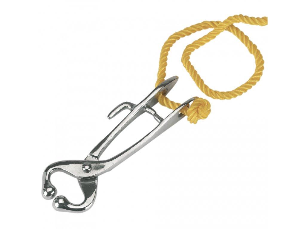 Svorka nosní s vodícím provazem, pozink