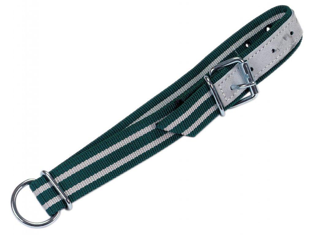 Obojek pro telata, nylon, 130x4cm, s D-kroužkem