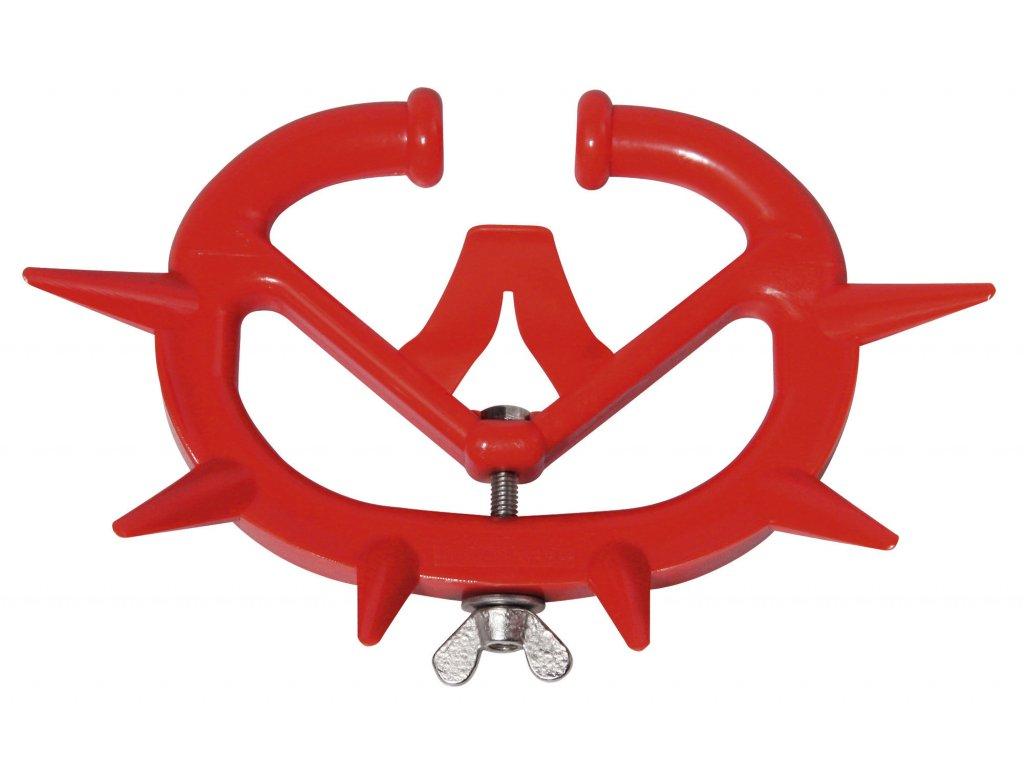 Kruh proti sání orig. Müller, telata, mladý skot, plastový červený
