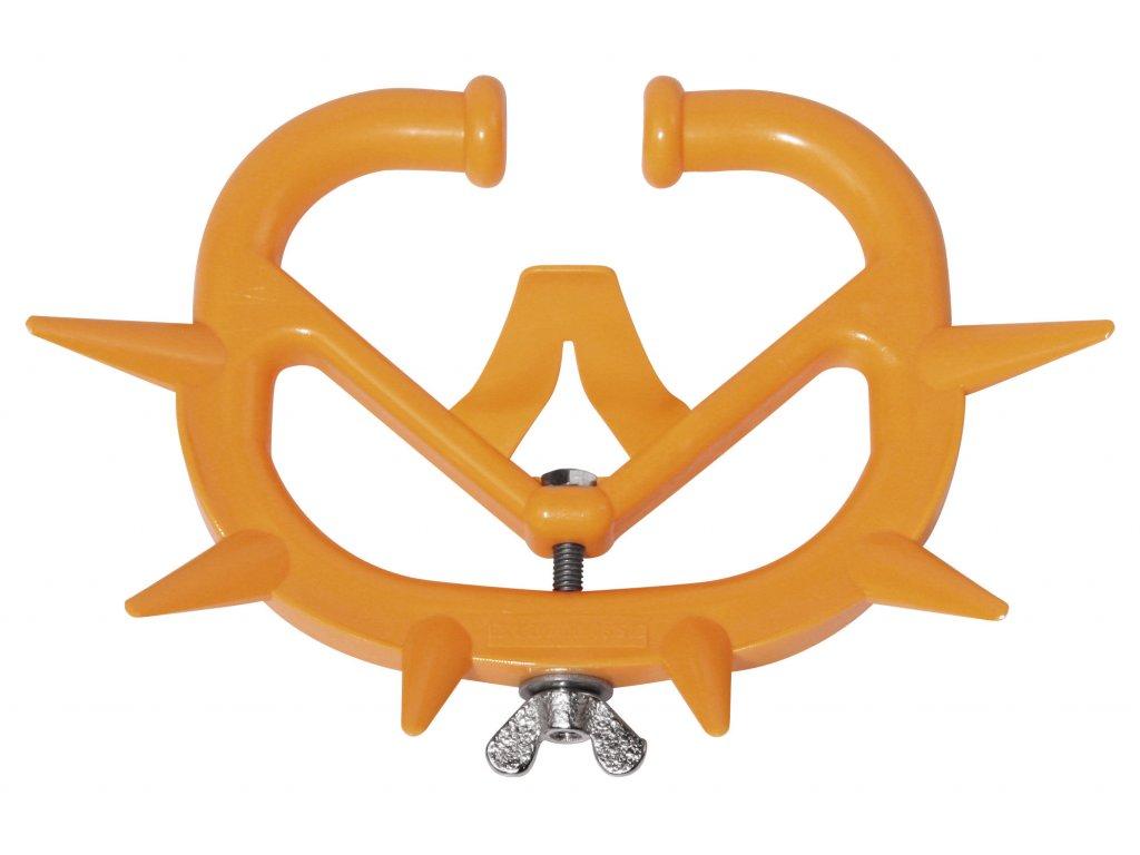 Kruh proti sání orig. Müller, mladý skot, dospělý skot, plastový, oranžový