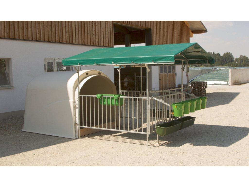 Ochranná střecha pro CalfHouse Premium 4/5