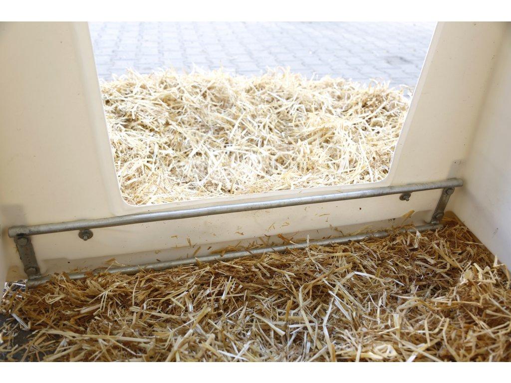 Dodatečné vybavení prahu pro boudu pro telata PE UV