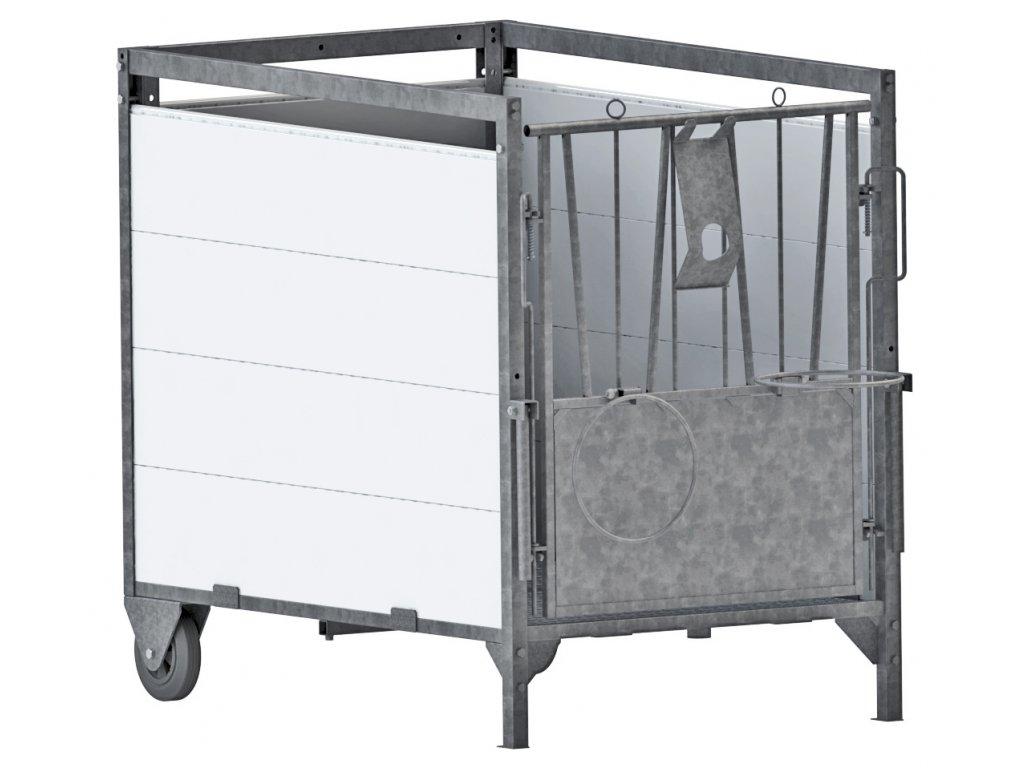 Malý box pro telata, 130x85x106cm