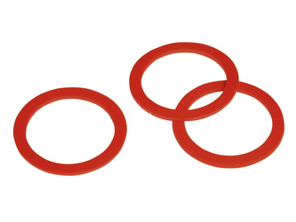 Těsnění HIKO červené, plast