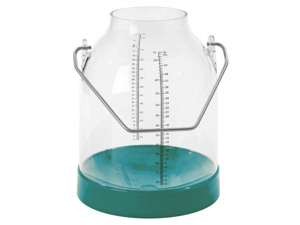 Konev na dojení zelená, držadla 143 mm (Standart)