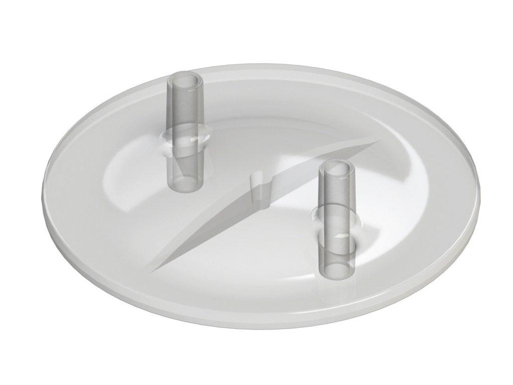 Víko nádoby na dojení 13 x 17 mm