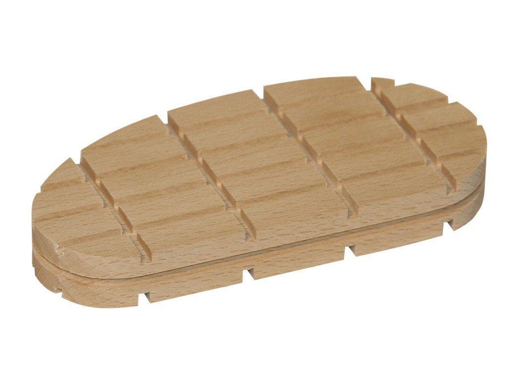 Technovit ProfitVet, dřevěný špalík, plochý, nízký 1ks, 112mm