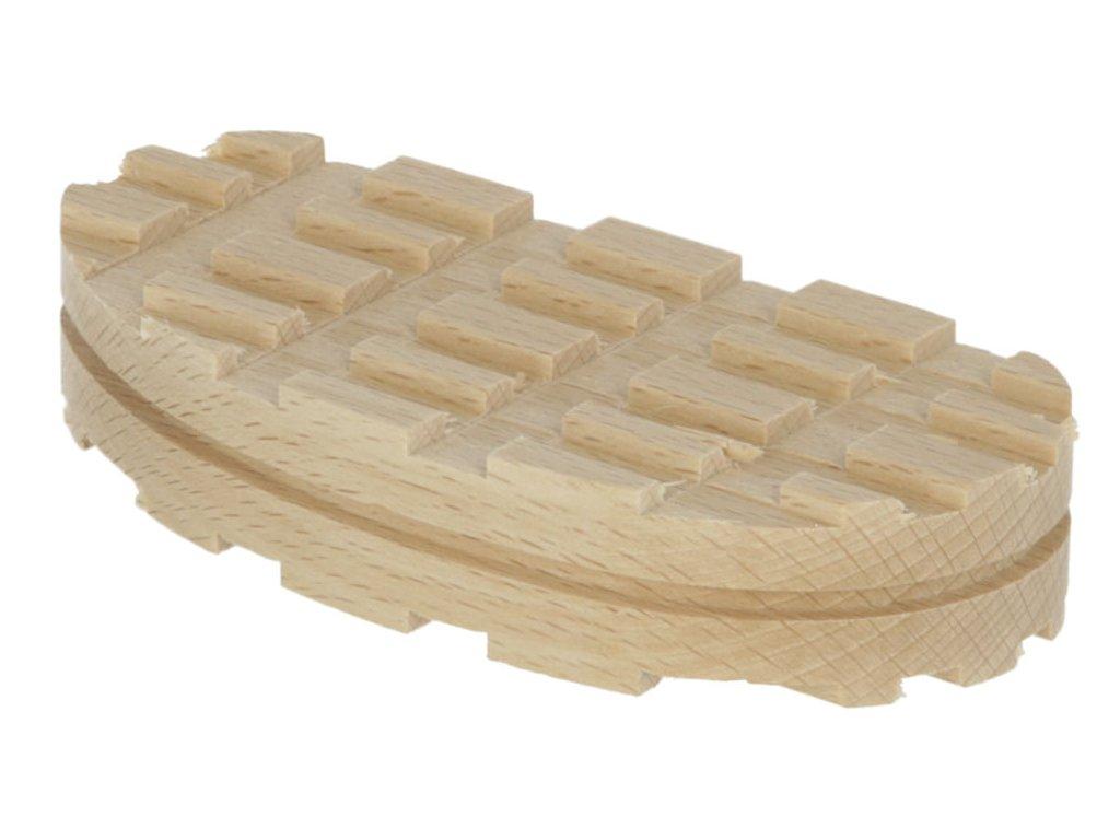 Nášlapka dřevěná pro Technovit Standard, 112 mm