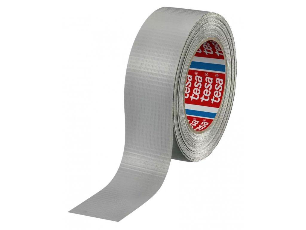 Bandážová páska TESA, stříbrná, šířka 48 mm