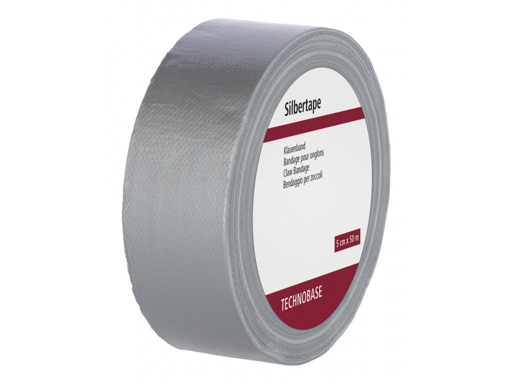 Páska na paznehty SILBERTAPE 50m x 5cm